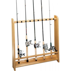 Cabela's Solid Oak Rod Racks