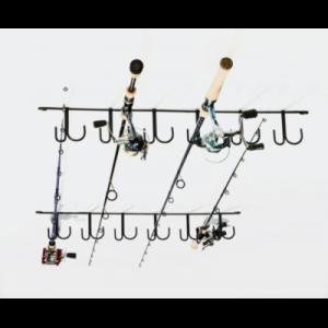 Rack' Em 12-Rod Ceiling Rod Rack