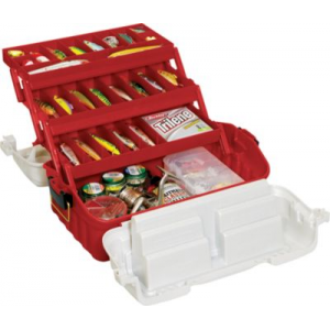 Plano Flipsider 3-Tray 7603 Tackle Box - Copper/Silver