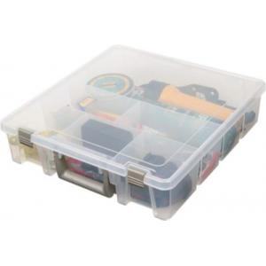 Flambeau 9001 Deep Tuff 'Tainer Utility Box - Translucent