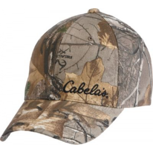 Cabela's Men's Uninsulated Baseball Cap with Gore-TEX - Mossy Oak Country (ONE SIZE FITS MOST)