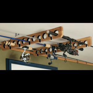 Cabela's Ceiling Rod Rack