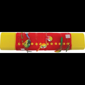 Northland Bottom Bouncer Storage Tackle Tamer - Red/Yellow (12)