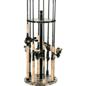 Organized Fishing 15-Rod Camo Round Rack