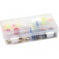 Flambeau Tuff Tainer Utility Boxes with Zerust - Translucent