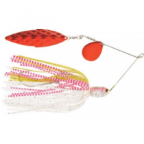 Cabela's Fisherman Series Muskie/Pike No-Roll Spinnerbait - White