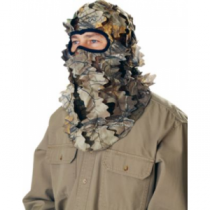 Cabela's Men's Leafy-wear Pro II Hood - Zonz Woodlands 'Camouflage' (ONE SIZE FITS MOST)