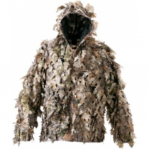 Cabela's Men's Ghil-Leaf Hooded Jacket - Zonz Woodlands 'Camouflage' (XL)