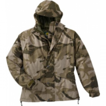 Cabela's Men's MT050 Quiet Pack Rain Jacket with Gore-TEX Regular - Zonz Woodlands 'Camouflage' (Medium)