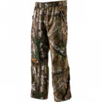 Cabela's Men's MT050 Rain Pants with Gore-TEX and ScentLok Regular - Zonz Woodlands 'Camouflage' (XL)