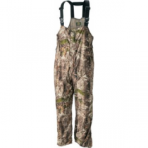 Cabela's Men's MT050 Quiet Pack Rain Bibs with ScentLok and Gore-TEX Regular - Zonz Woodlands 'Camouflage' (XL)