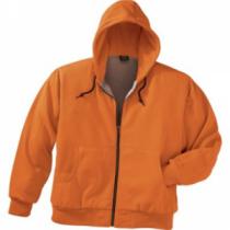 Cabela's Men's Blaze Thermal Hooded Full Zip Jacket Tall - Blaze Orange (3XL)