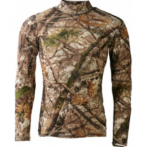 Cabela's Men's Bug Skinz Bugproof Mock-T - Zonz Woodlands 'Camouflage' (XL)