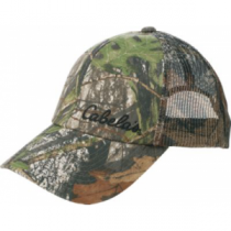 Cabela's Men's Lightweight Mesh-Back Cap - Zonz Woodlands 'Camouflage' (ONE SIZE FITS ALL)