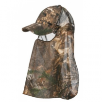 Cabela's Men's Lightweight Mesh-Back Field Cap with Headnet - Mossy Oak Country (ONE SIZE FITS ALL)