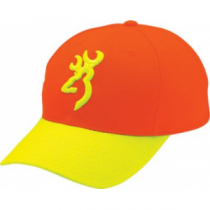 Browning Men's Safety Plus Cap - Blaze 'Orange' (ONE SIZE FITS ALL)