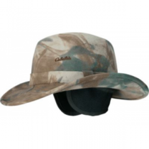 Cabela's Lite Felt Outback Hat with Earflaps - Seclusion Blaze (SMALL)