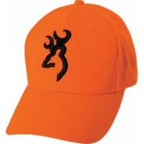 Browning Men's Buckmark Blaze Cap - Blaze/Black (ONE SIZE FITS MOST)