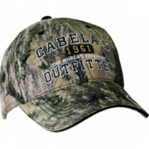 Cabela's Men's Camo Logo Cap - Zonz Western 'Camouflage' (ONE SIZE FITS MOST)