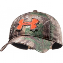 Under Armour Camo Alpine Adjustable Cap - Xtra/Dynamite (ONE SIZE FITS MOST)