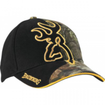 Browning Men's Big Buckmark Cap - Mo Break-Up Infinity (ONE SIZE FITS MOST)