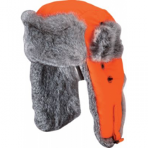 Mad Bomber Men's Rabbit Fur Hats Blaze Orange (MEDIUM)