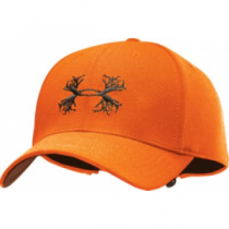 Under Armour Men's Antler Adjustable Cap - Blaze Orange (ONE SIZE FITS MOST)