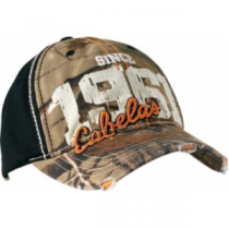 Cabela's Men's Est. 61 Distressed Cap - Realtree Apg Hd (ONE SIZE FITS MOST)