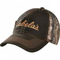 Cabela's Men's Waxed Fleece-Lined Cap - Realtree Xtra 'Camouflage' (ONE SIZE FITS MOST)