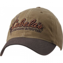 Cabela's Men's Two-Tone Waxed Cotton Fleece-Lined Cap - Tan (ONE SIZE FITS MOST)