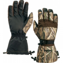 Cabela's Men's Deluxe II Shooting Gloves with Gore-TEX and Thinsulate - Realtree Max-5 (SMALL)