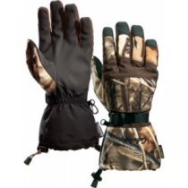 Cabela's Kids' Gore-TEX Deluxe II Shooting Gloves with Thinsulate Insulation - Realtree Max-5 (LARGE)
