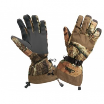 Cabela's Men's MT050 Whitetail Extreme II Shooting Gloves with Gore-TEX and Thinsulate - Mossy Oak Country (SMALL)