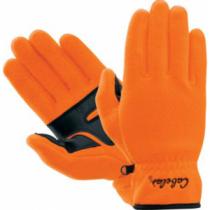 Cabela's Men's Big-Game Fleece Noninsulated Gloves - Blaze Orange (LARGE)