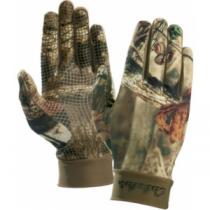 Cabela's Men's Camoskinz II Unlined Gripper-Dot Gloves - Mossy Oak Country (2XL)
