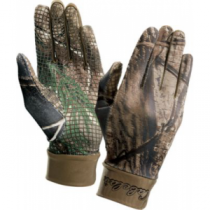 Cabela's Kids' Camoskinz II Unlined Gripper-Dot Gloves - Realtree Xtra 'Camouflage' (MEDIUM)