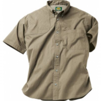 Cabela's Men's Vented-Back Shooting Shirt - Desert Tan (SMALL)