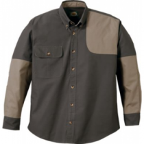 Cabela's Men's Classic II Left-Hand Shooting Shirt Regular - Tundra/Maple 'Olive Green' (LARGE)