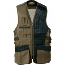 Cabela's Men's ClayPro X100 Shooting Vest - Left Hand - Dark Khaki (Medium)