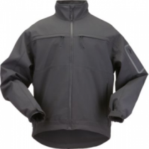 5.11 Men's Chameleon Soft-Shell Jacket - Black (SMALL)