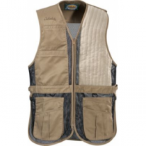 Cabela's Men's Targetmaster II Left-Hand Shooting Vest - Maple 'Tan' (XL)