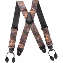 Cabela's Camo Button Suspenders - Realtree Xtra 'Camouflage' (One Size)