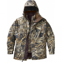 Cabela's Men's Brush Buster Waterfowl 4-in-1 Systems Parka with Gore-TEX and Thinsulate Regular - Realtree Max-5 (SMALL)