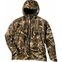 Cabela's Men's Cyner-G Waterfowl Systems Cold Bay Tech Shell Parka with Gore-TEX - Max 4 'Camouflage' (MEDIUM)