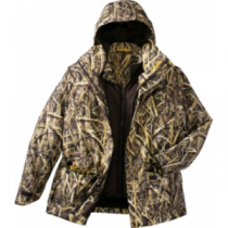 Cabela's Men's Dri-Fowl II Extreme 4-in-1 Parka with Thinsulate and 4MOST DRY-Plus - Realtree Max-5 (LARGE)