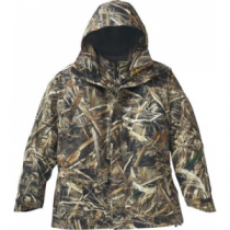 Cabela's Dri-Fowl II Extreme Waterfowl 4-in-1 Parka with 4MOST DRY-Plus and Thinsulate Tall - Realtree Max-5 (2XL)