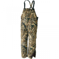 Cabela's Men's Dri-Fowl II Extreme Waterfowl Bibs with 4MOST DRY-Plus and Thinsulate Tall - Realtree Max-5 (LARGE)
