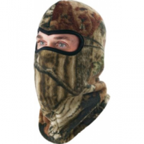 Cabela's Men's Reversible Fleece Facemask - Mossy Oak Country (ONE SIZE FITS MOST)