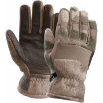 Cabela's Men's Wooltimate II WindShear Gloves - Outfitter Camo (LARGE)