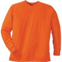 Cabela's Men's Blaze Long-Sleeve Tee Shirt - Blaze Orange (XL)